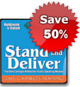 Stand & Deliver: The Dale Carnegie Method for Public Speaking Mastery