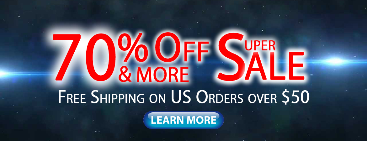 70% Off & More Super Sale. Free Shipping on All USA Orders. Click Here to Learn More