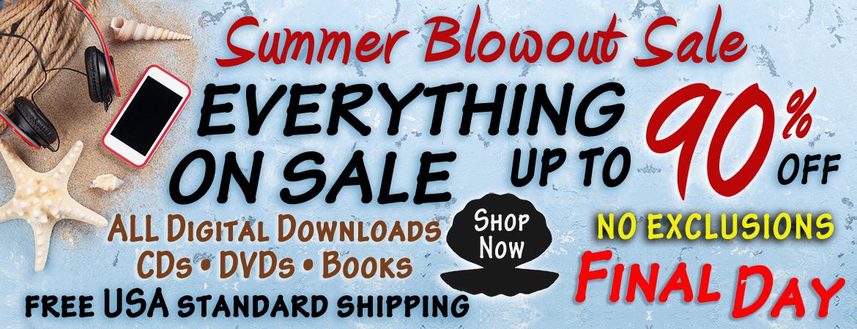 Summer Blowout Sale 2021