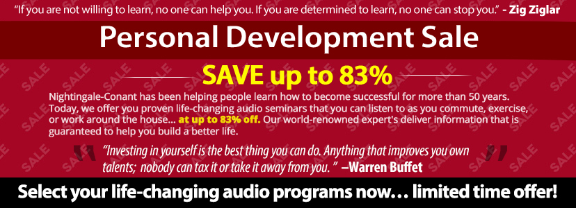 Personal Development Sale
