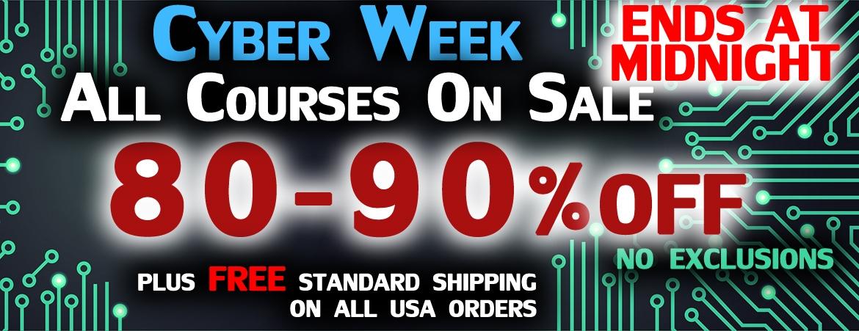 Cyber Week Sale 2017X
