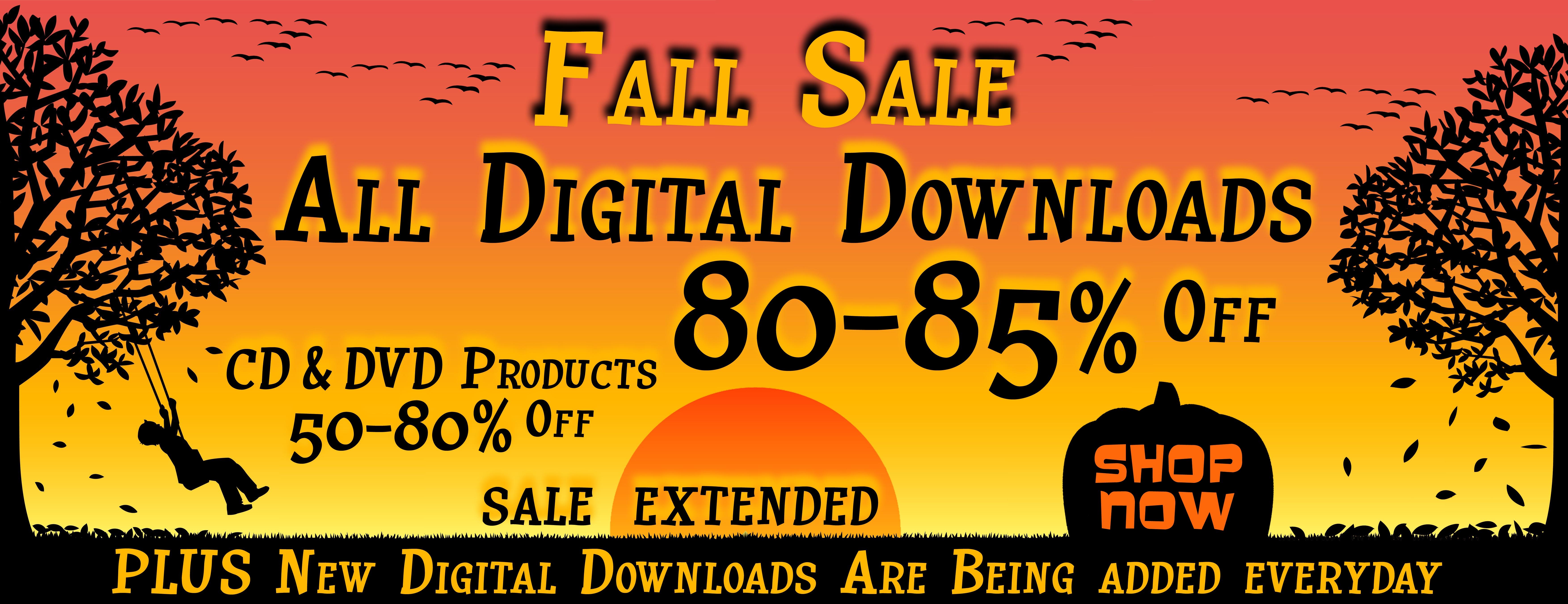 Digital Fall Sale