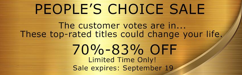 People's Choice Sale!