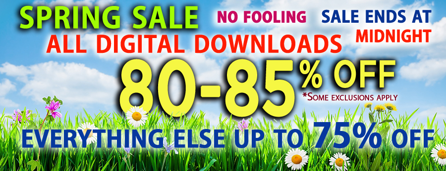Digital Spring Sale