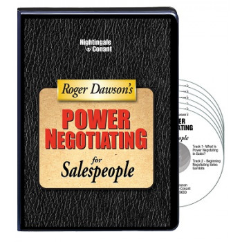 Power Negotiating for Sales People CD Version
