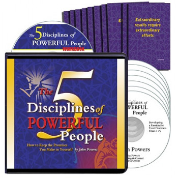 The 5 Disciplines of Powerful People CD Version