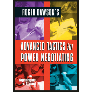 Advanced Tactics for Power Negotiating DVD