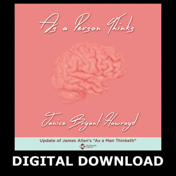As a Person Thinks Digital Download