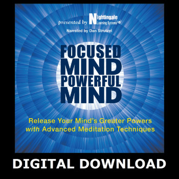 Focused Mind, Powerful Mind Digital Download