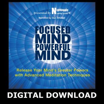 Focused Mind, Powerful Mind Digital Download