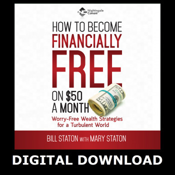 How to Become Financially Free on $50 a Month Digital Download