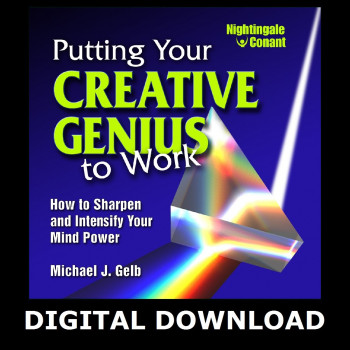 Putting Your Creative Genius to Work Digital Download