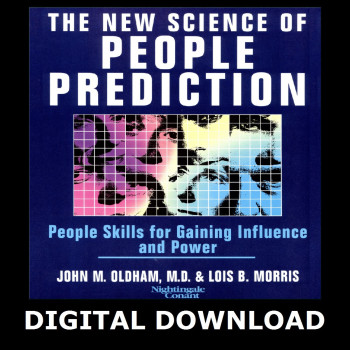 The New Science of People Prediction Digital Download
