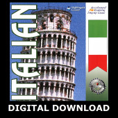The Accelerated Learning Italian System Digital Download