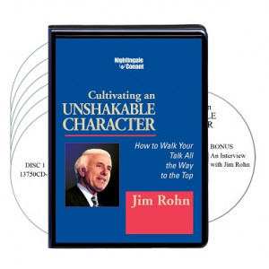 Cultivating an Unshakable Character CD Version