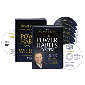 The Power Habits System CD/DVD Version