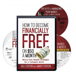How to Become Financially Free on $50 a Month CD Version