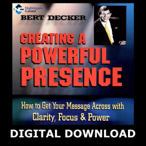 Creating a Powerful Presence MP3 Version