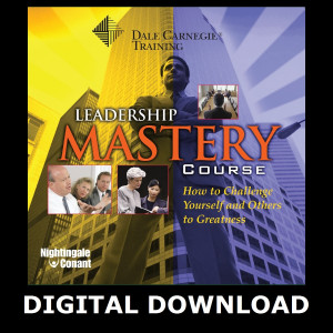 The Dale Carnegie Leadership Mastery Course MP3 Version