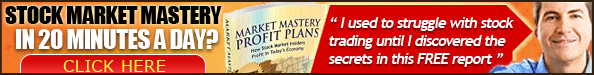 STOCK MARKET MASTERY IN 20 MINUTES A DAY?
